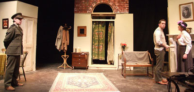 Scene from Plough and Stars at Mill Theatre
