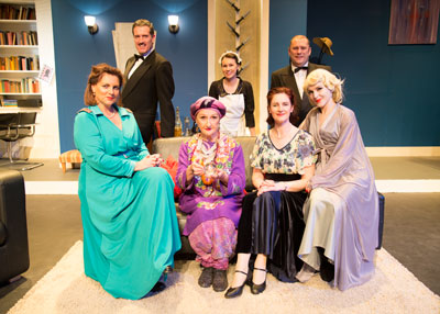 Director and Cast of Blithe Spirit