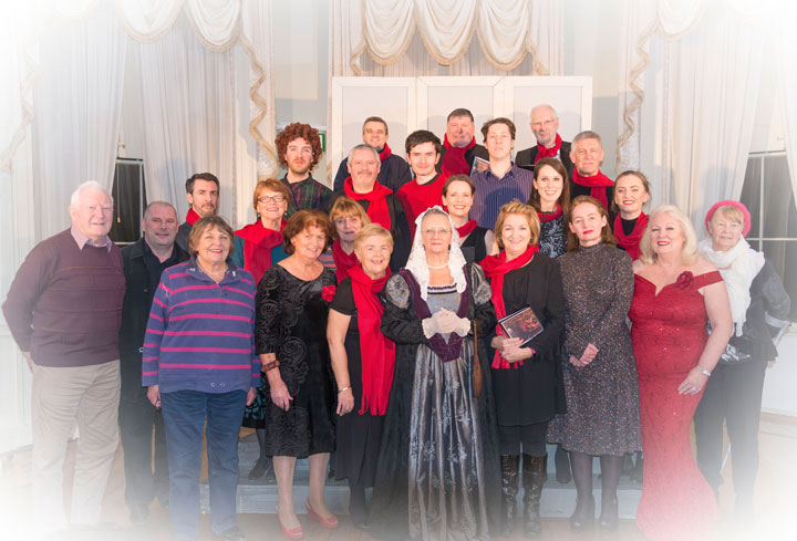 Cast of Christmas at Marlay 2018